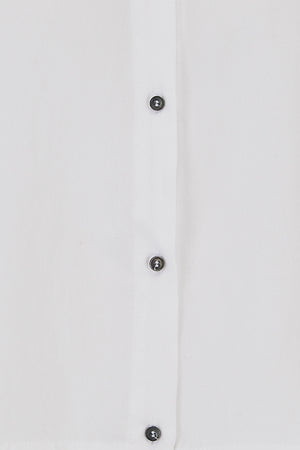Sophie Darling White Tencel Shirt Button detail