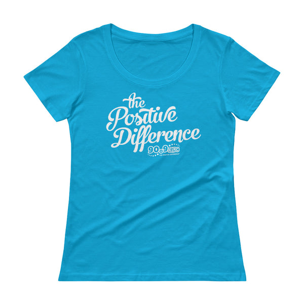 Positive Difference Ladies' Scoopneck