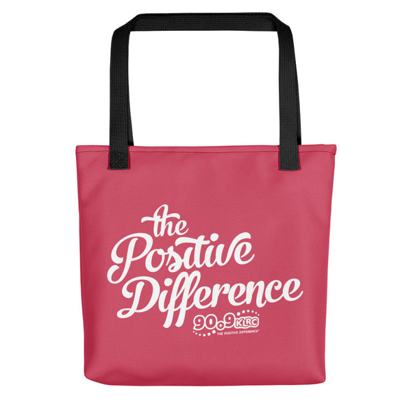 Positive Difference Pink Tote