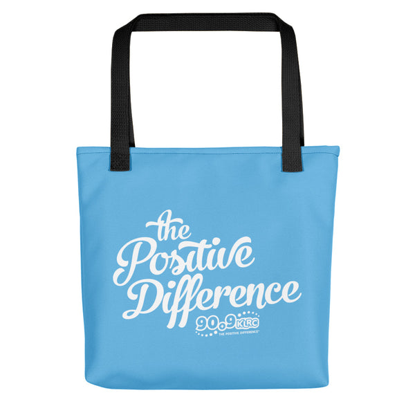 Positive Difference Blue Tote