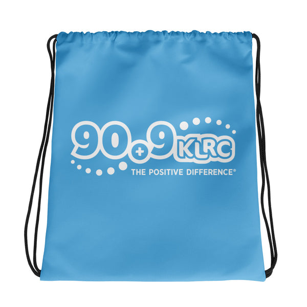 KLRC Blue Drawstring Bag