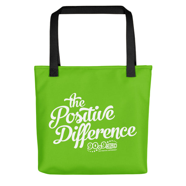Positive Difference Green Tote