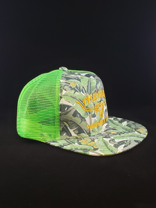 Bananas/Neon Green Cap