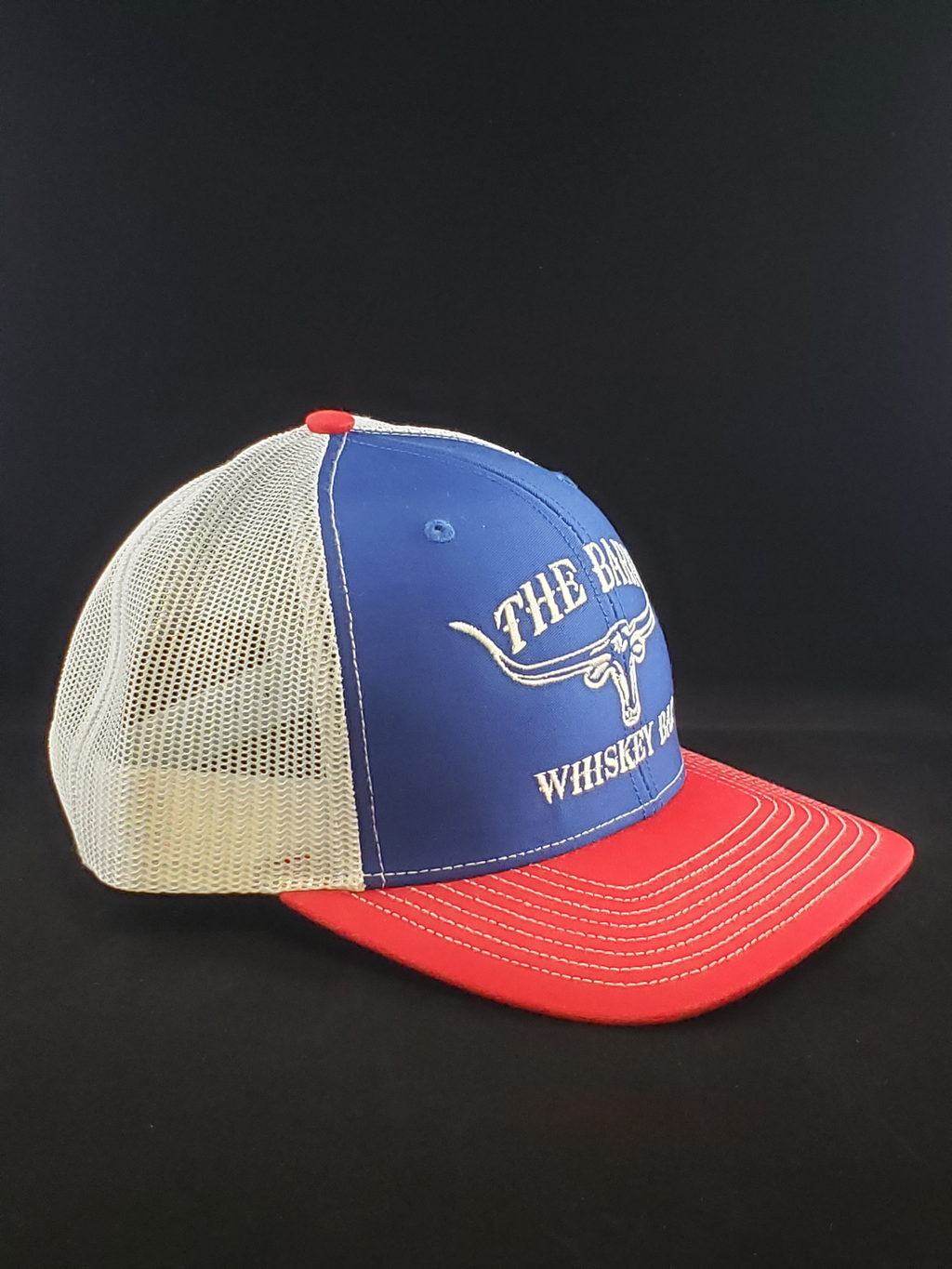 Blue/White/Red Cap