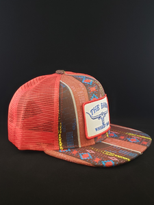 Aztec/Red/Red Patch Cap