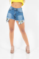 POCKET DENIM SHORTS