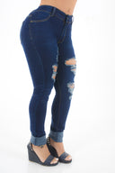LOVE YOU HIGH RISE JEANS