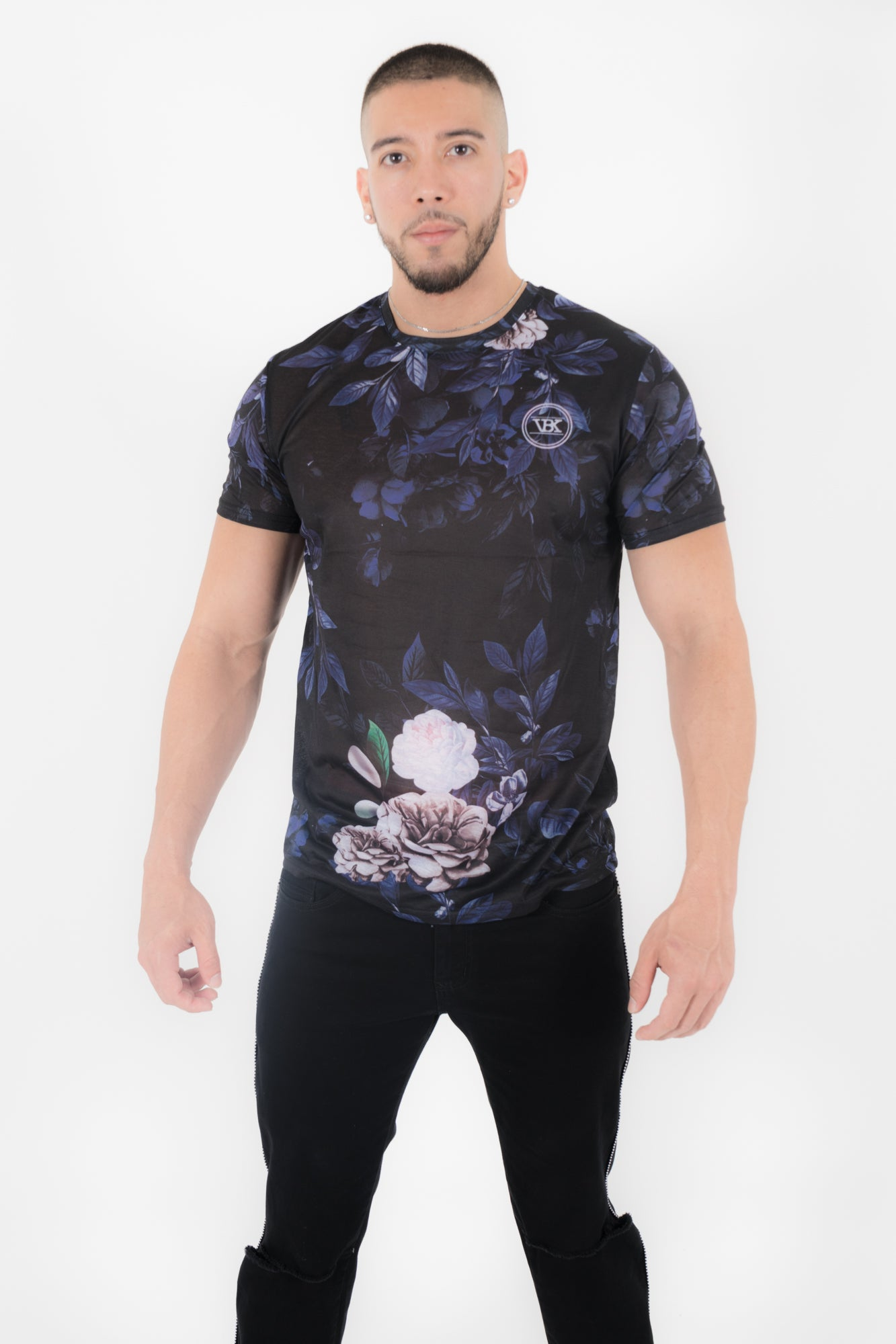 FOREST AT NIGHT SHORT SLEEVE