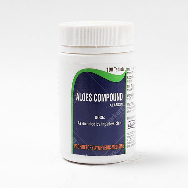 Aloes Compound Tab-100nos-Alarsin - ayur-kart