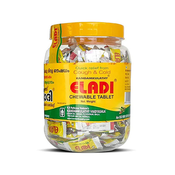 Eladi Chewable Tablet - Kandamkulathy Vaidyasala