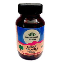 Sugar Balance 60 Capsules Bottle Online - Organic India