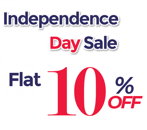 Grab Flat 10% Off on Tulle Fabrics this Independence Day