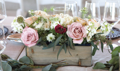 Things That You Will Need to Make Your Floral Patriotic Centerpiece: