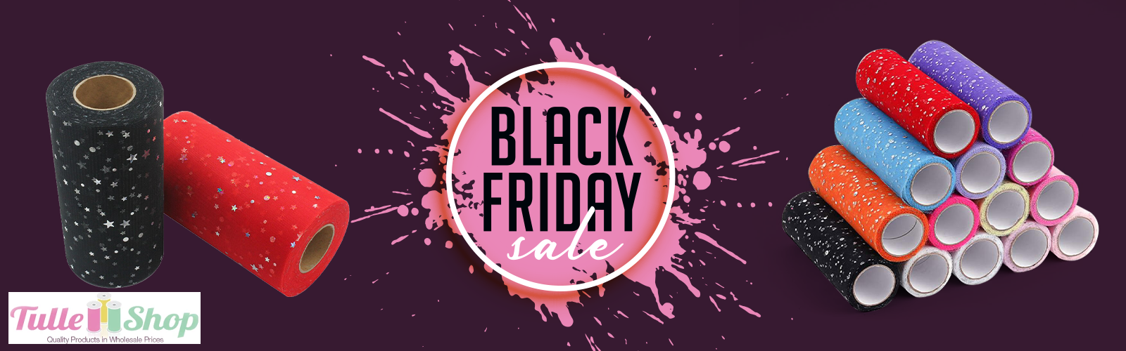 Black Friday Sale on Tulle Shop:10% to 50 % Off on New Arrivals! Limited Time Offer!