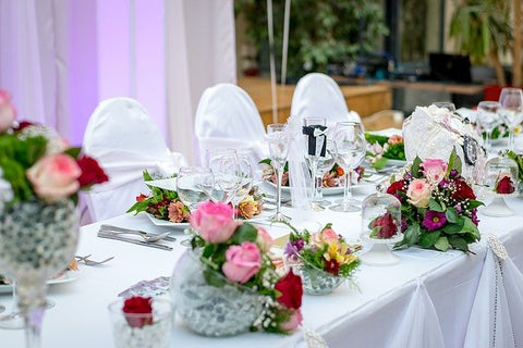 Table Setting & Seating area