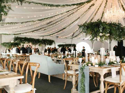 Use White Lights For Decorating Your Wedding Venue