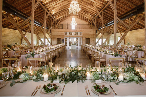 Make the Venue Look Romantic with Candles
