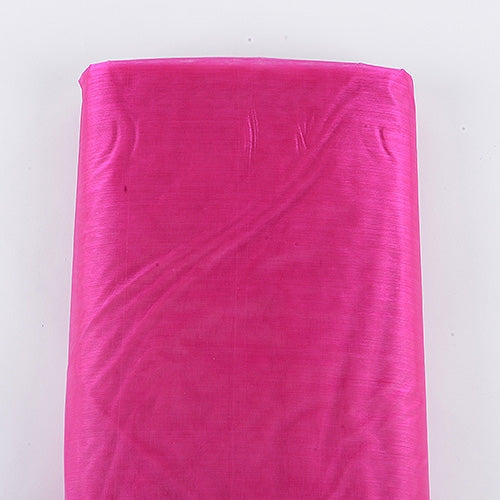 Organza Fabric Bolt (10 Yards) Fuchsia