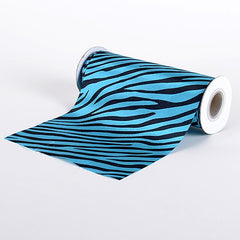 Satin Fabric Zebra Prints