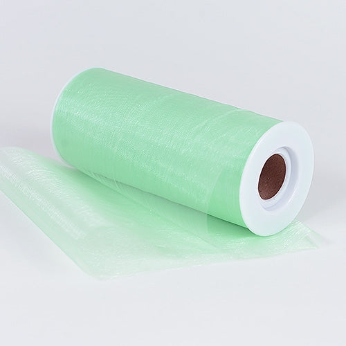 Mint Premium Organza Fabric Spool 6x25 Yards