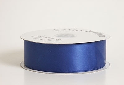 3/8 Inch Royal Blue Satin Ribbon 100 Yards
