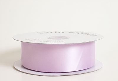 7/8 Inch Lavender Satin Ribbon 100 Yards