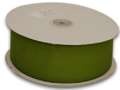 1/4 Inch Spring Moss Grosgrain Ribbon 50 Yards