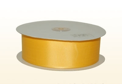1/4 Inch Light Gold Grosgrain Ribbon 50 Yards