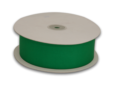 1//4 Emerald Green Grosgrain Ribbon 50 Yards Spool Solid Color by KCRAFT-R-US