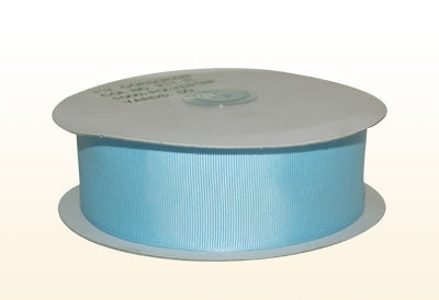 3/8 Inch Light Blue Grosgrain Ribbon 50 Yards