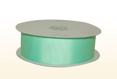 3/8 Inch Mint Grosgrain Ribbon 50 Yards