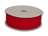 3/8 Inch Red Grosgrain Ribbon 50 Yards