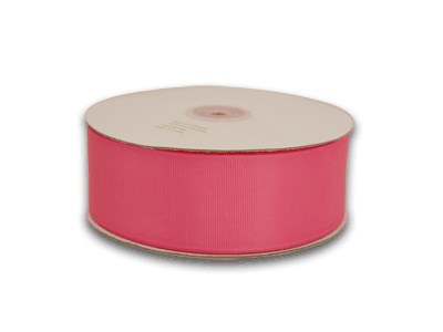 1-1/2 Inch Hot Pink Grosgrain Ribbon 50 Yards