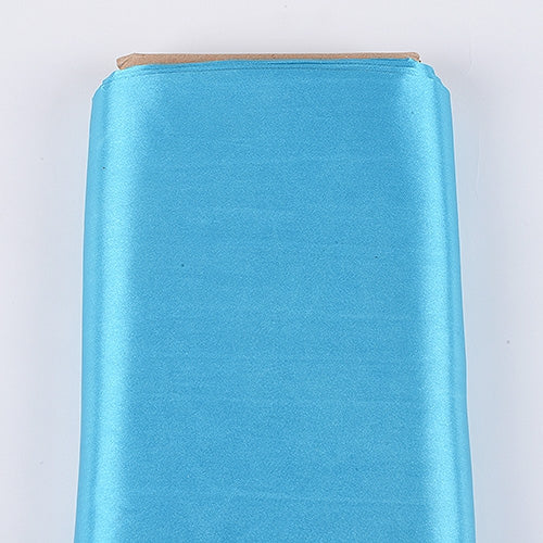 Turquoise 60 Inch Satin Fabric 10 Yards