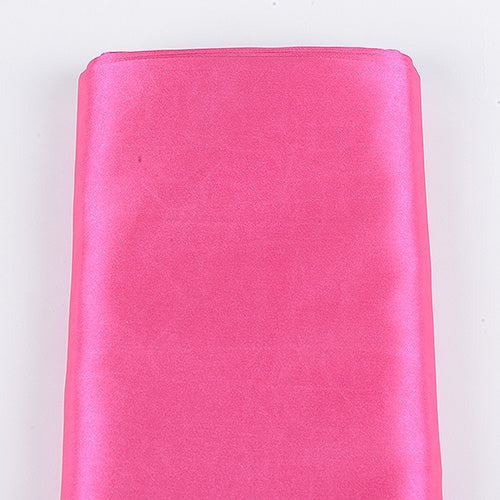 Hot Pink 60 Inch Satin Fabric 10 Yards