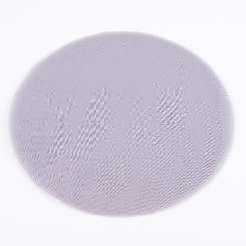 Silver - Premium Tulle Circle - ( 9 inch | 25 Pieces )
