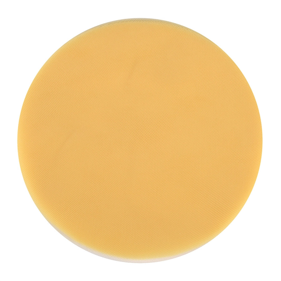 Yellow - Premium Tulle Circle - ( 9 inch | 25 Pieces )