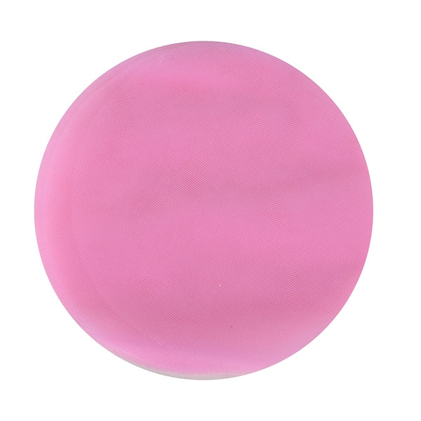 Pink - Premium Tulle Circle - ( W: 9 inch | L: 25 Pieces )