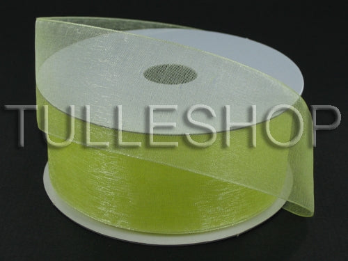 7/8 Inch Baby Maize Organza Ribbons