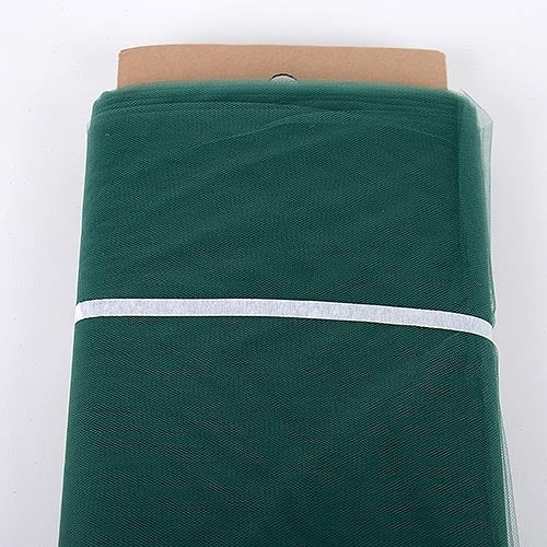 Hunter Green 54 Inch Tulle Fabric Bolt x 40 Yards
