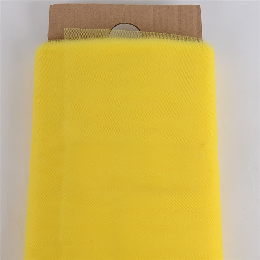 Yellow 54 Inch Tulle Fabric Bolt x 40 Yards