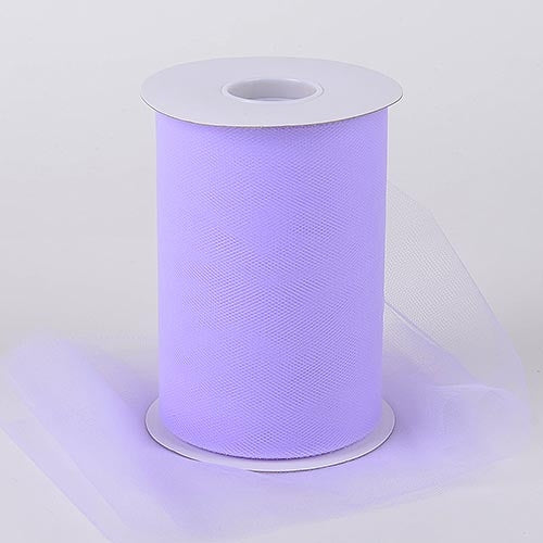 Lilac Lavender 6 Inch Tulle Fabric Roll 100 Yards