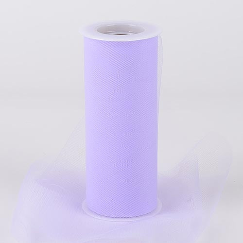 Lilac Lavender 6 Inch Tulle Fabric Roll 25 Yards