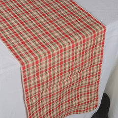 Checkered/Plaid Table Runners