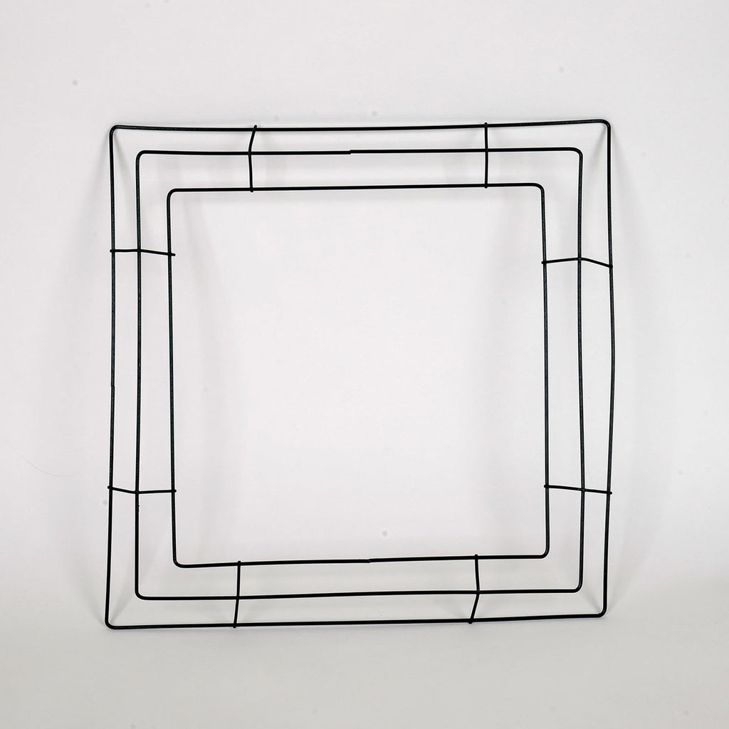 16 Inch Square Wreath Wire Frames - Bundle of 10pcs
