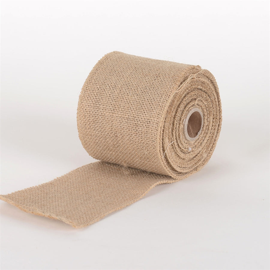 Natural Burlap Net Roll - ( W: 4 inch | L: 10 Yards )
