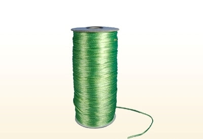 Apple Green 2 mm Rattail Satin Cord 200 Yards