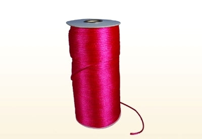Fuchsia 2 mm Rattail Satin Cord 200 Yards
