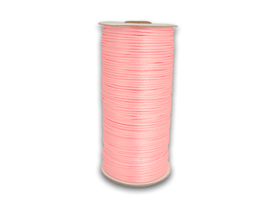 Pink 2 mm Rattail Satin Cord 200 Yards