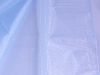 Light Blue Wedding Organza Fabric Decor 58x10 Yards